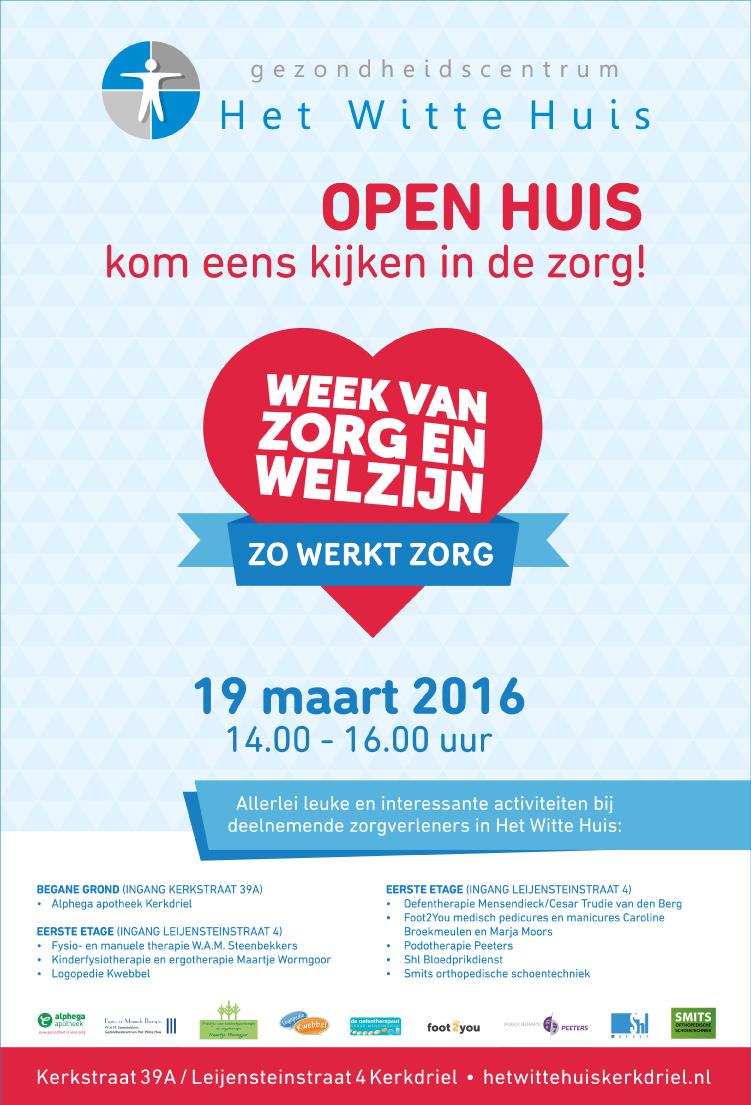 Open Huis Week van zorg en welzijn